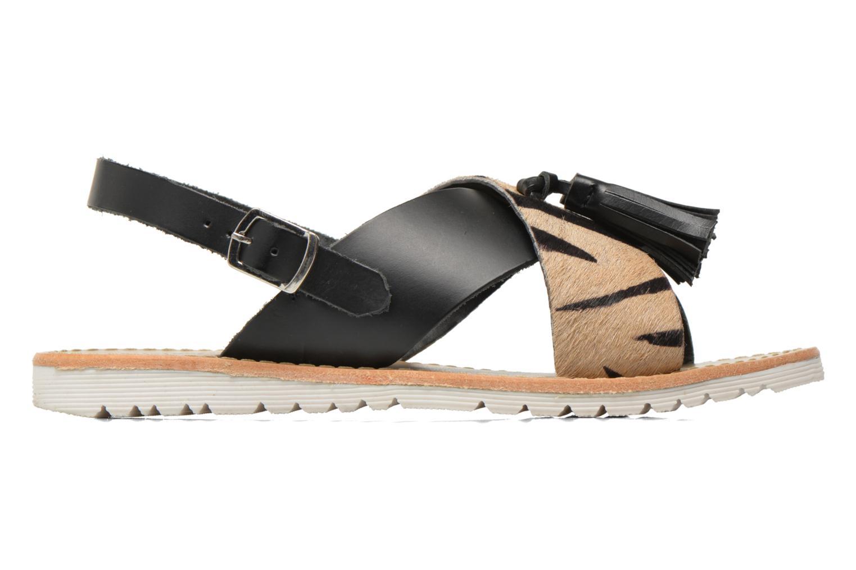 Sandales et nu-pieds Elizabeth Stuart Polka 883 Noir vue derrière