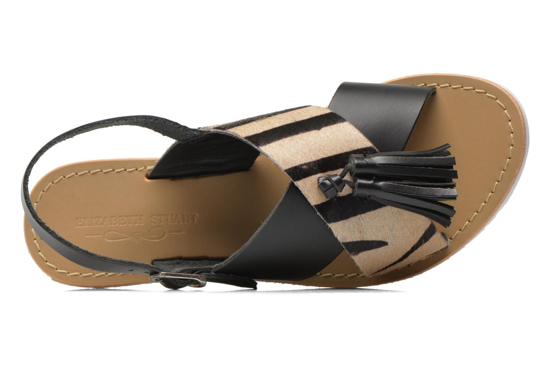 Sandales et nu-pieds Elizabeth Stuart Polka 883 Noir vue gauche