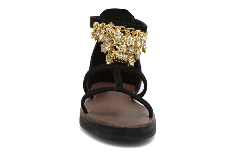 Sandales et nu-pieds Elizabeth Stuart Peps 606 Noir vue portées chaussures
