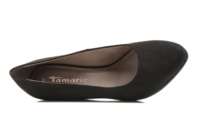 Escarpins Tamaris Rucuhy 2 Noir vue gauche