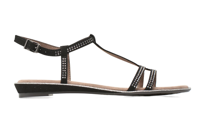 Sandales et nu-pieds Tamaris Lubela Noir vue derrière