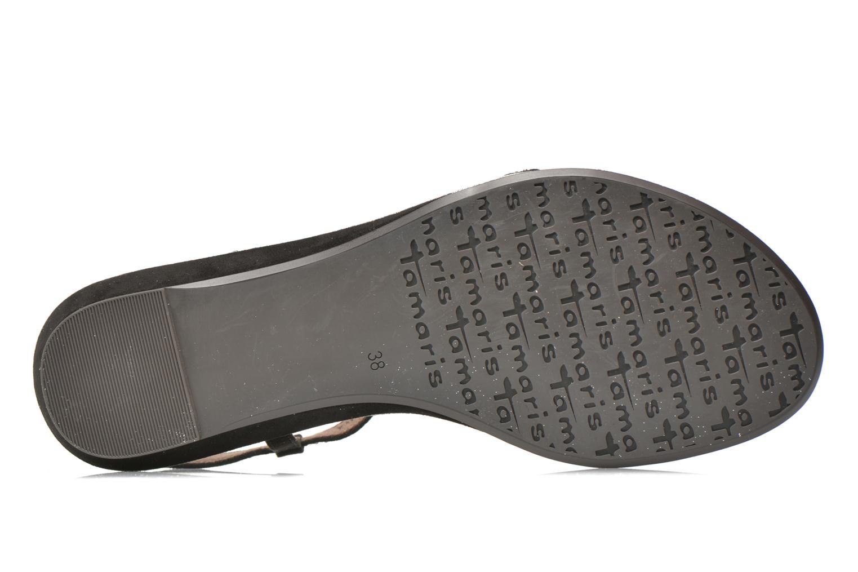 Sandales et nu-pieds Tamaris Lubela Noir vue haut