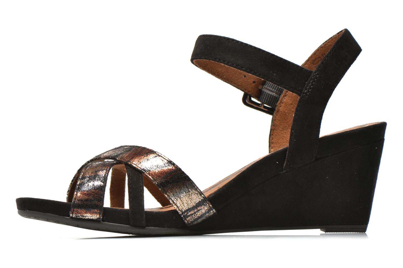 Sandales et nu-pieds Tamaris Covuja Noir vue face