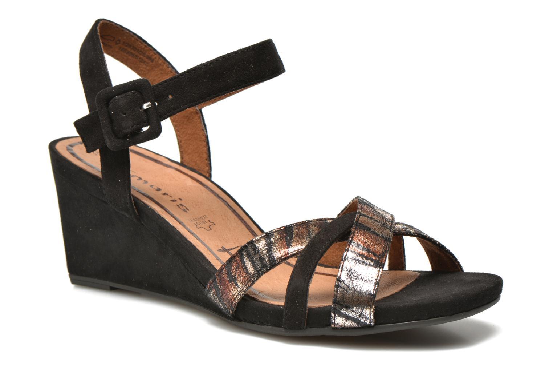 Sandales et nu-pieds Tamaris Covuja Noir vue détail/paire