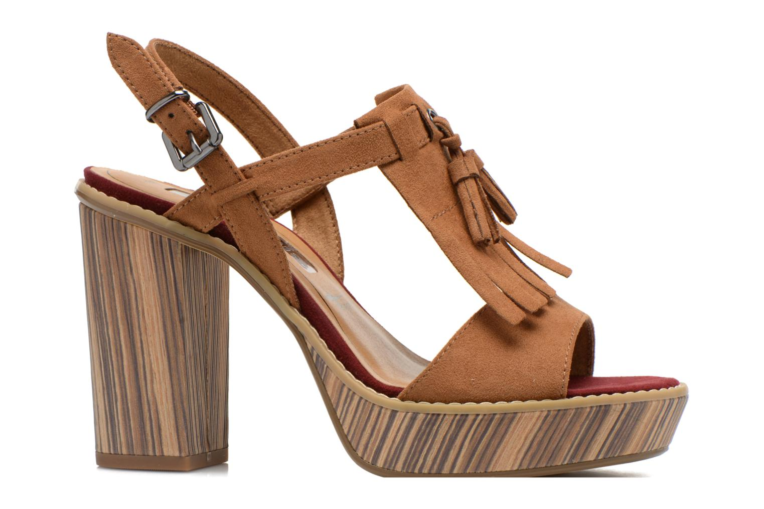 Sandals Tamaris Sylvana Brown back view