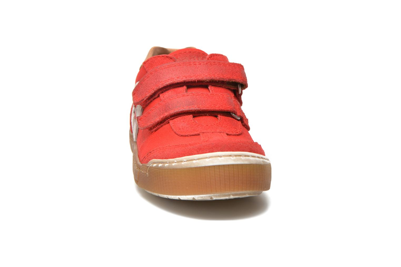 Baskets Bisgaard Christiansen Rouge vue portées chaussures