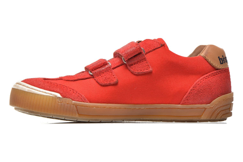 Sneaker Bisgaard Christiansen rot ansicht von vorne
