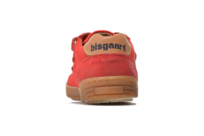 Sneaker Bisgaard Christiansen rot ansicht von rechts