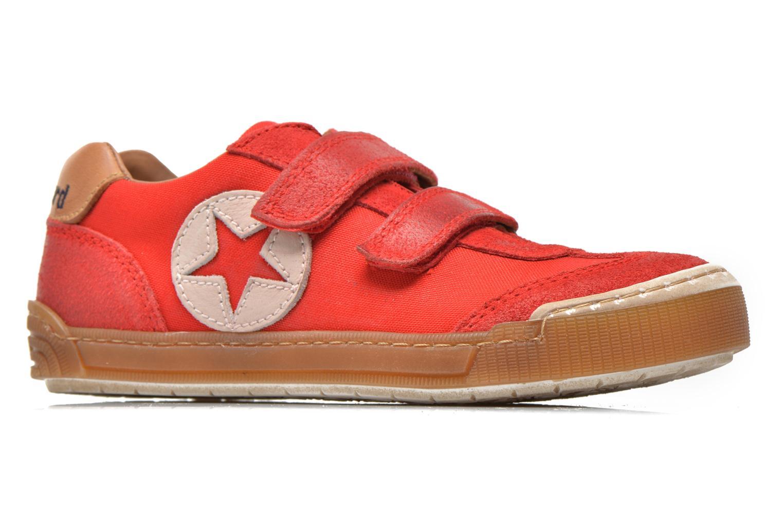 Sneaker Bisgaard Christiansen rot ansicht von hinten