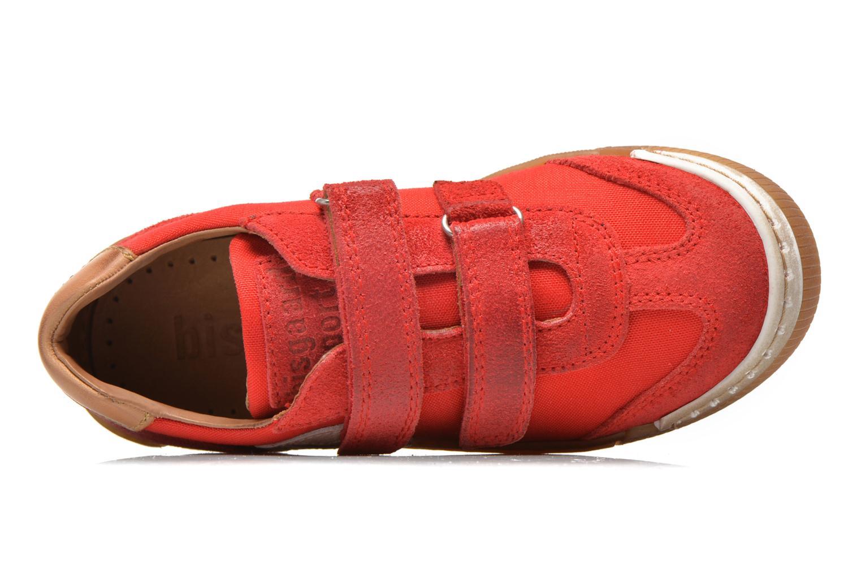 Sneaker Bisgaard Christiansen rot ansicht von links