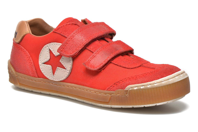 Sneaker Bisgaard Christiansen rot detaillierte ansicht/modell