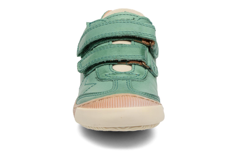 Baskets Bisgaard Didrik Vert vue portées chaussures