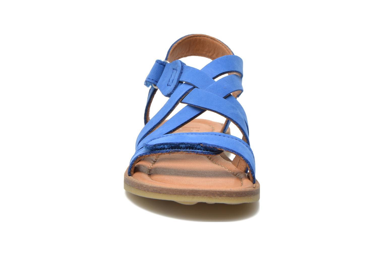 Sandales et nu-pieds Bisgaard Reta Bleu vue portées chaussures