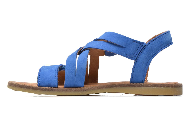 Sandales et nu-pieds Bisgaard Reta Bleu vue face