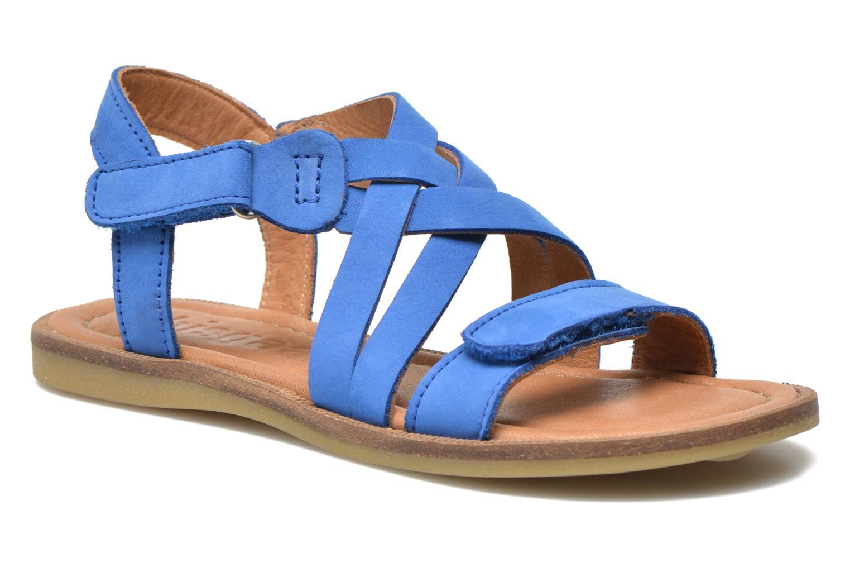 Sandales et nu-pieds Bisgaard Reta Bleu vue détail/paire