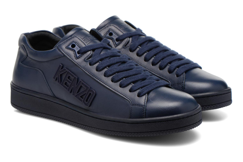 Sneakers Kenzo Tennix Blå 3/4 bild