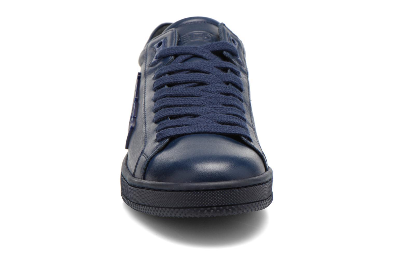 Sneaker Kenzo Tennix blau schuhe getragen