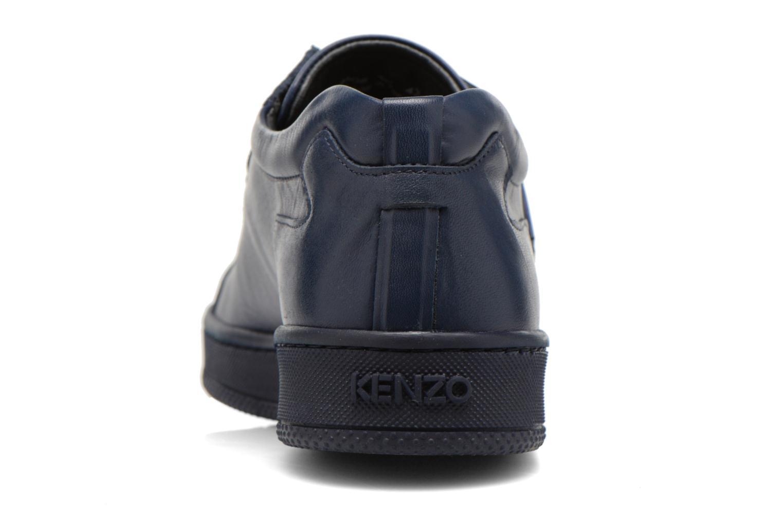 Sneaker Kenzo Tennix blau ansicht von rechts