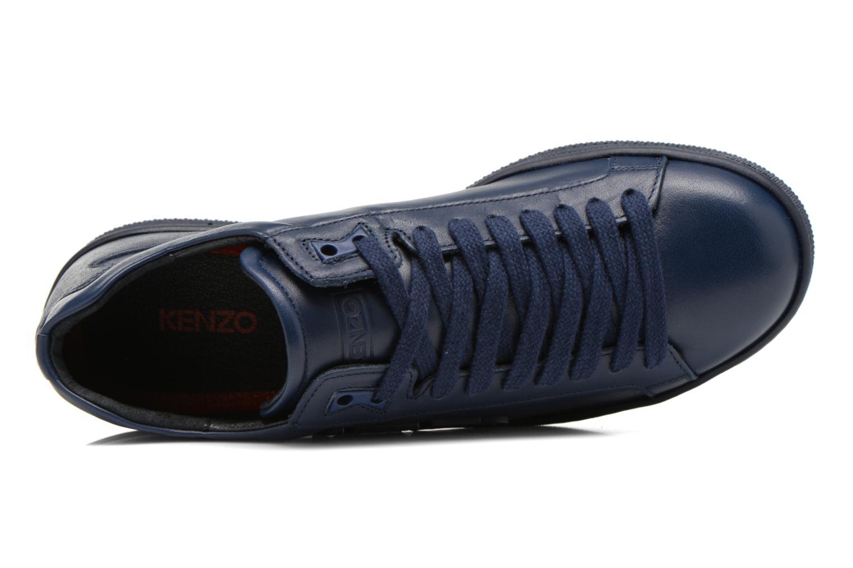 Sneaker Kenzo Tennix blau ansicht von links