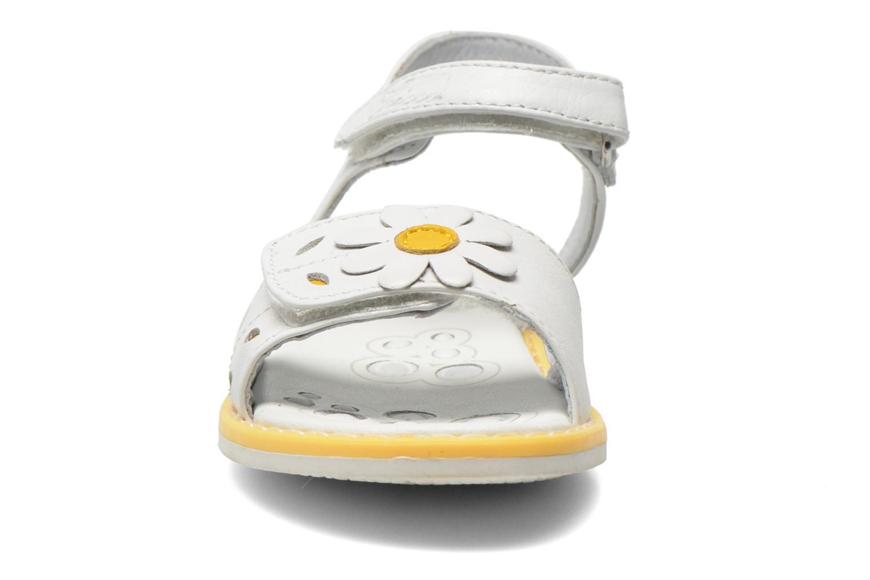 Sandales et nu-pieds Chicco Clizia Blanc vue portées chaussures