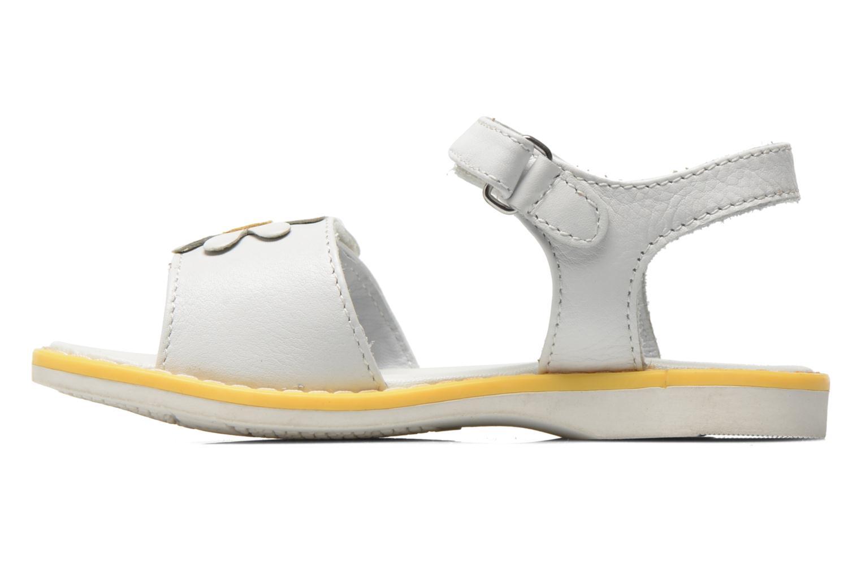 Sandales et nu-pieds Chicco Clizia Blanc vue face