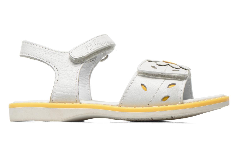 Sandales et nu-pieds Chicco Clizia Blanc vue derrière