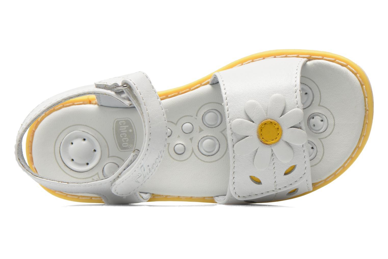 Sandales et nu-pieds Chicco Clizia Blanc vue gauche