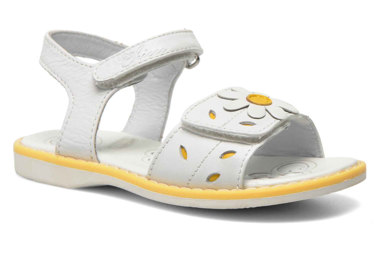 Sandales et nu-pieds Chicco Clizia Blanc vue détail/paire