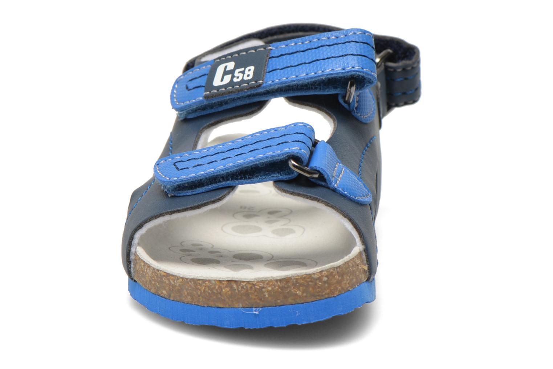 Sandales et nu-pieds Chicco Hamadeo Bleu vue portées chaussures