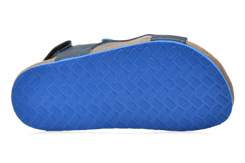 Sandales et nu-pieds Chicco Hamadeo Bleu vue haut