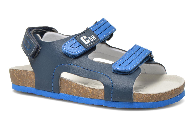 Sandales et nu-pieds Chicco Hamadeo Bleu vue détail/paire