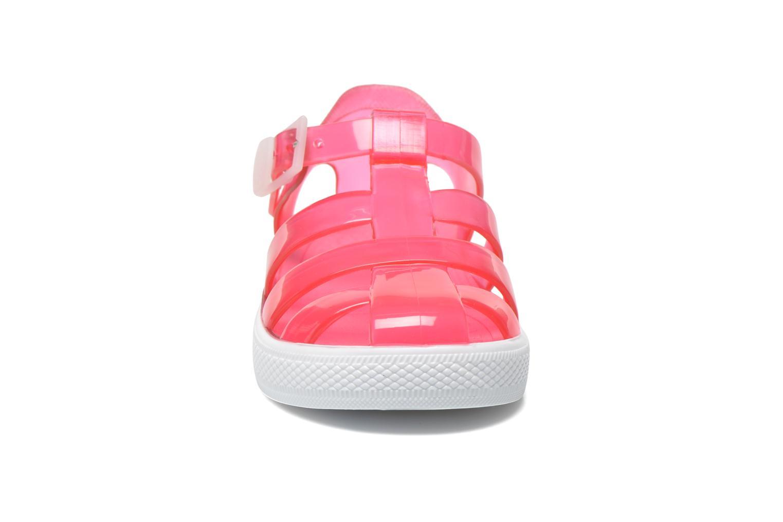 Sandali e scarpe aperte Chicco Mike Rosa modello indossato