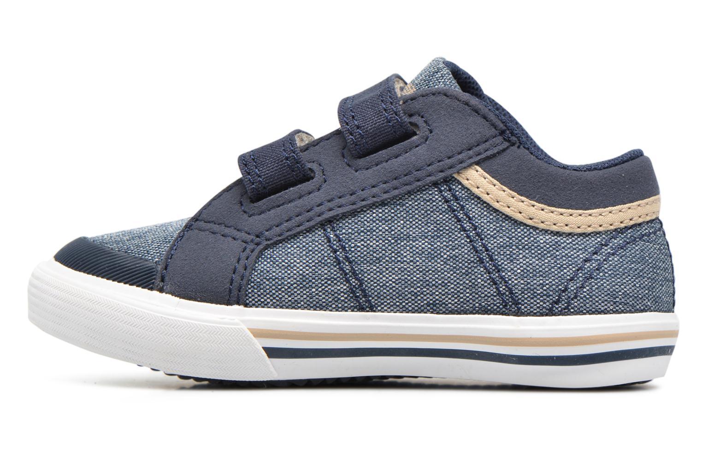 Sneakers Le Coq Sportif Saint Gaetan Inf Azzurro immagine frontale
