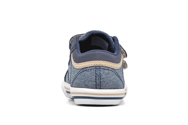 Sneakers Le Coq Sportif Saint Gaetan Inf Blå Se fra højre