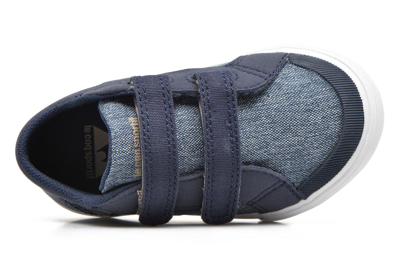 Trainers Le Coq Sportif Saint Gaetan Inf Blue view from the left