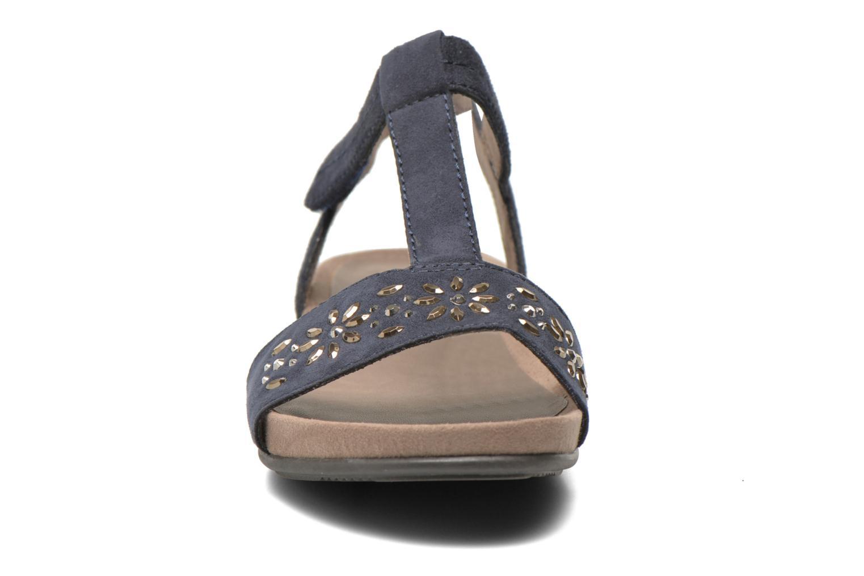 Sandales et nu-pieds Jana shoes Likia Bleu vue portées chaussures