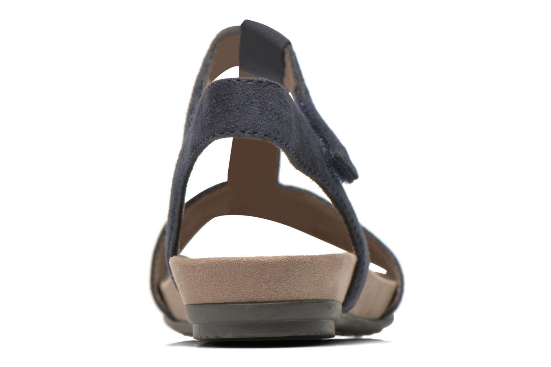 Sandales et nu-pieds Jana shoes Likia Bleu vue droite