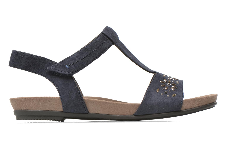 Sandales et nu-pieds Jana shoes Likia Bleu vue derrière