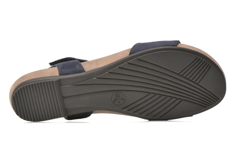 Sandales et nu-pieds Jana shoes Likia Bleu vue haut