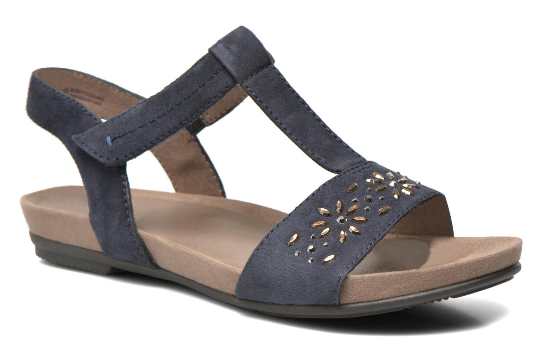 Sandales et nu-pieds Jana shoes Likia Bleu vue détail/paire