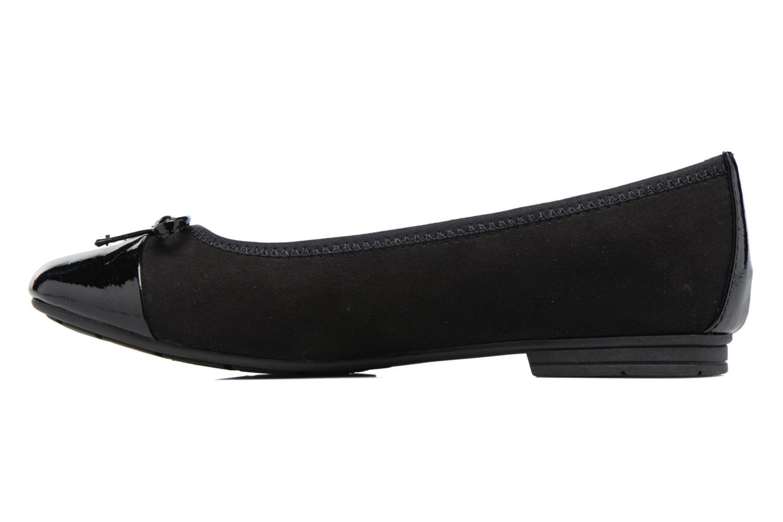 Ballerines Jana shoes Iliana Noir vue face