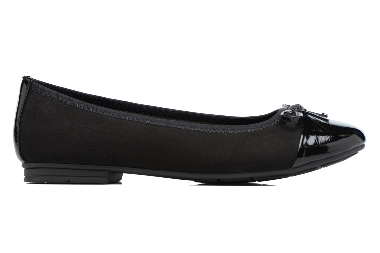 Ballerines Jana shoes Iliana Noir vue derrière