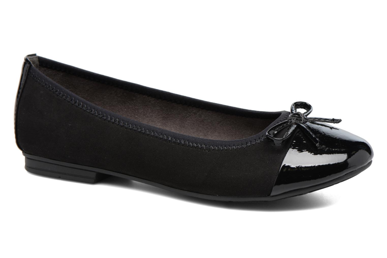 Ballerines Jana shoes Iliana Noir vue détail/paire