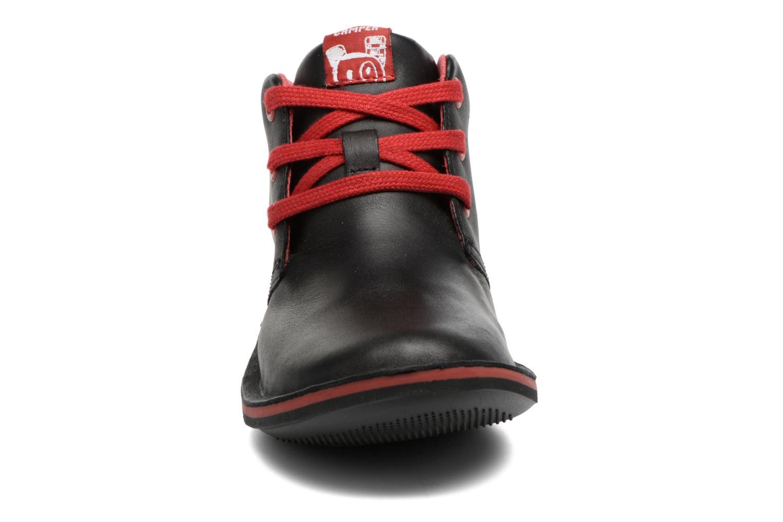 Chaussures à lacets Camper Beetle Street Kids Noir vue portées chaussures