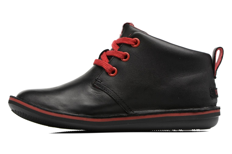 Chaussures à lacets Camper Beetle Street Kids Noir vue face
