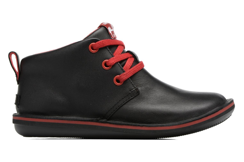 Chaussures à lacets Camper Beetle Street Kids Noir vue derrière