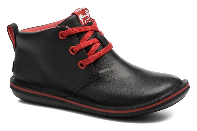 Chaussures à lacets Camper Beetle Street Kids Noir vue détail/paire