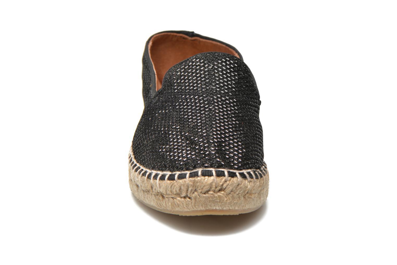 Espadrilles Maypol Susan Noir vue portées chaussures