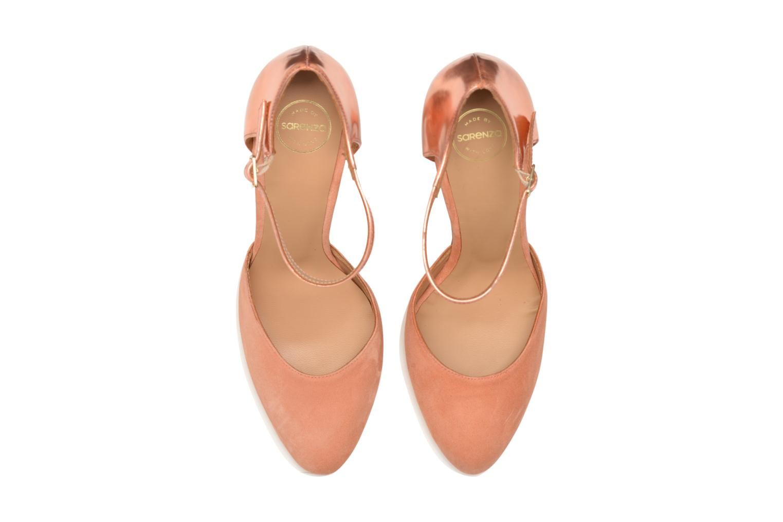 Loulou au Luco #2 Specchio Rose Gold + ante abricot
