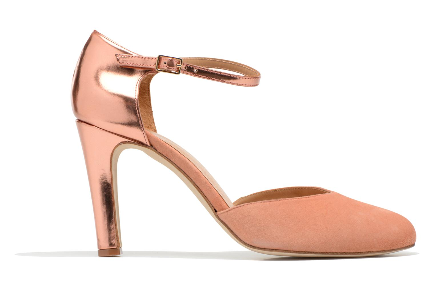 Marques Chaussure femme Made by SARENZA femme Loulou au Luco #2 Specchio Rose Gold + ante abricot